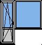 Пластиковая балконная группа